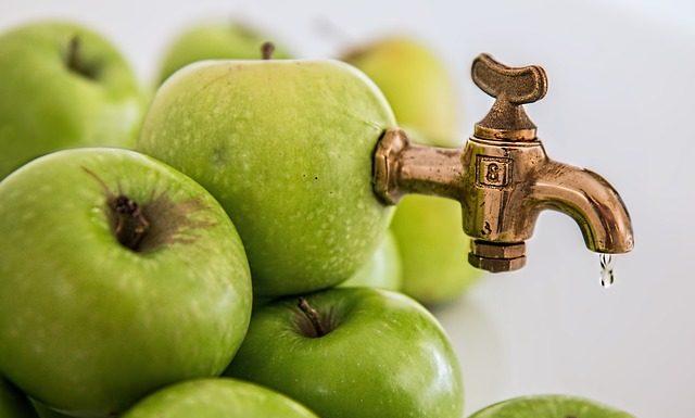 हरे सेब का जूस