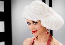 Katy Perry white hair