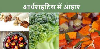Foods for Arthritis patients