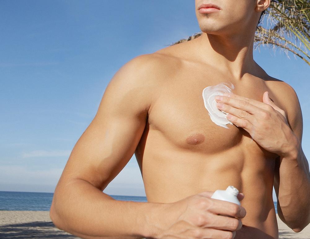 Homemade sunscreen lotion