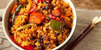 चावल और आलू की तहरी