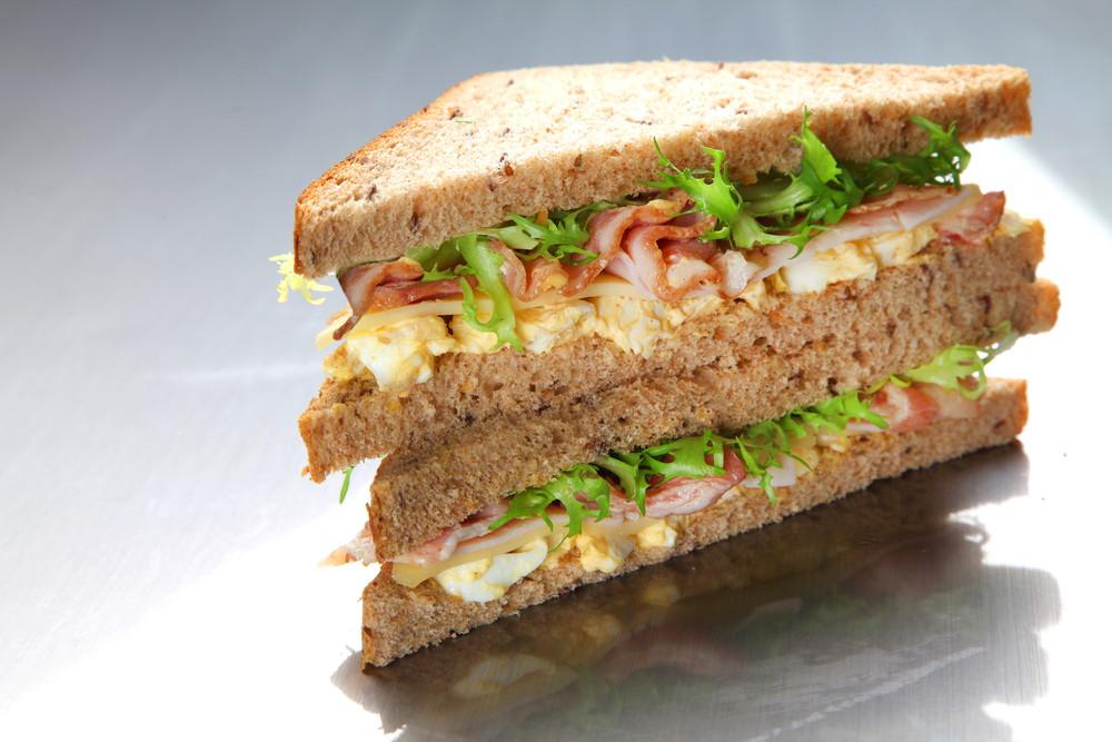 दही ब्रेड सैंडविच
