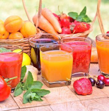 फलों-सब्ज़ियों के जूस