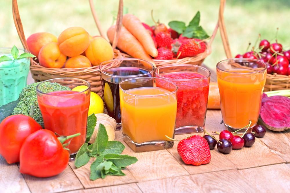 Vegetables fruits juice