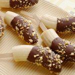 Chocolate Banana Pops Recipe in Hindi