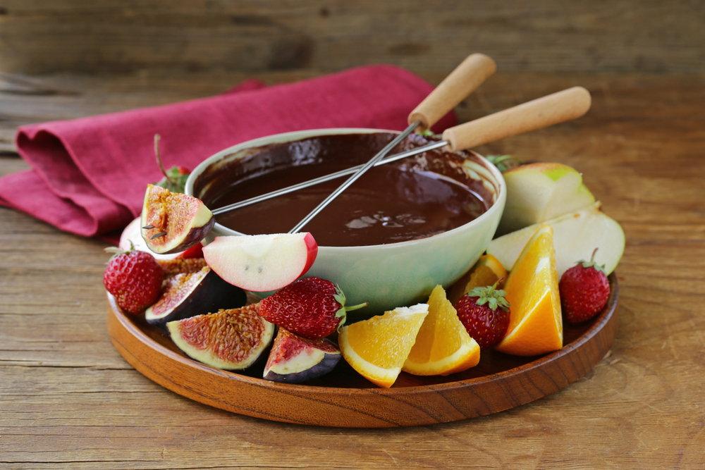 चॉकलेट फ्रूट्स