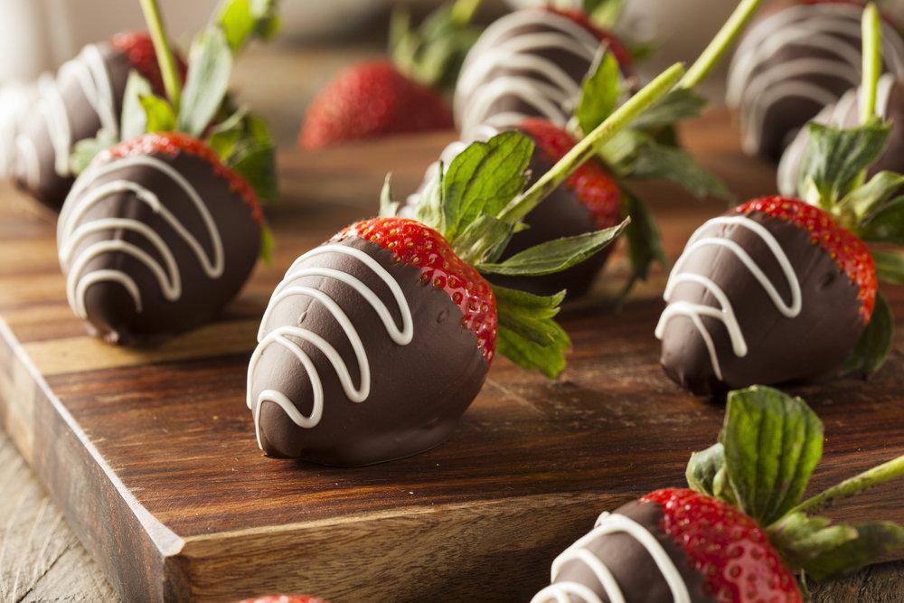 चॉकलेट फ्रूट्स स्ट्राबेरी