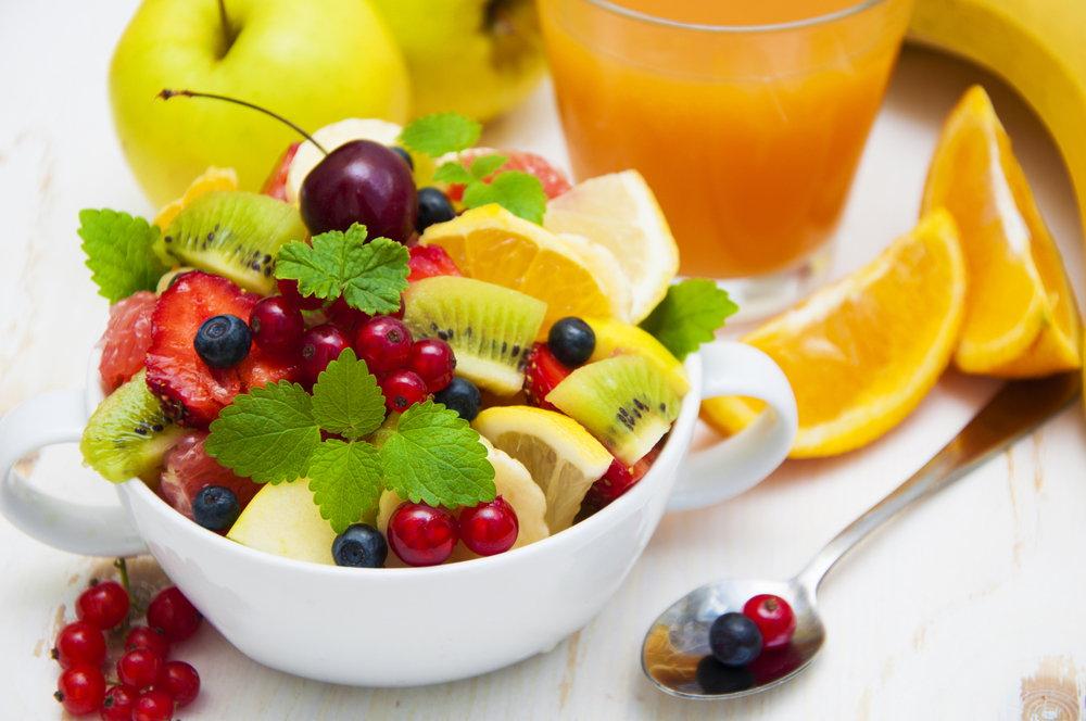 फलों का सलाद