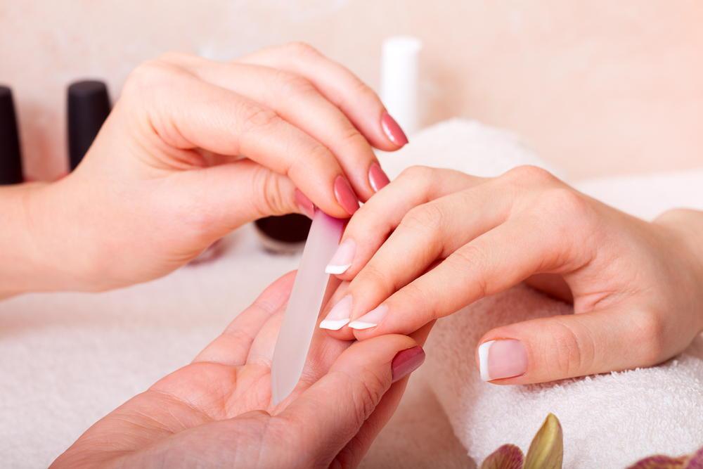 Manicure nail filing