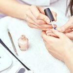 Manicure nail polishing