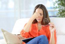 आंखों की थकान दूर करना