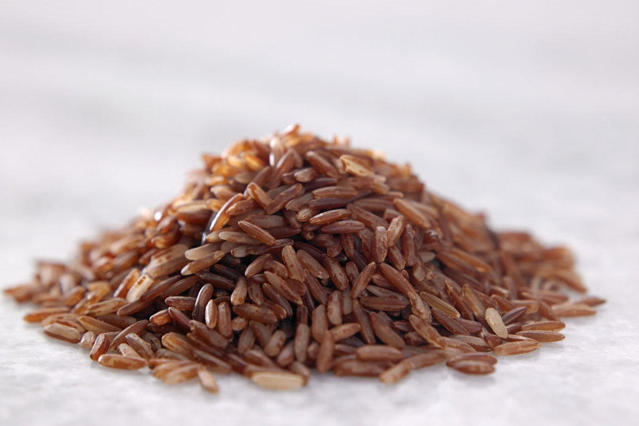 भूरे चावल