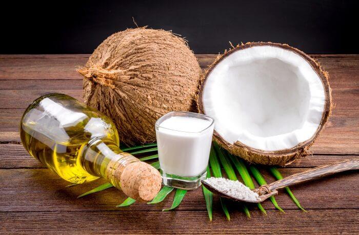 Coconut milk and oil