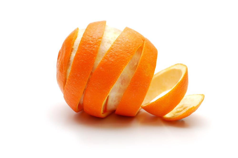 संतरे का छिलका
