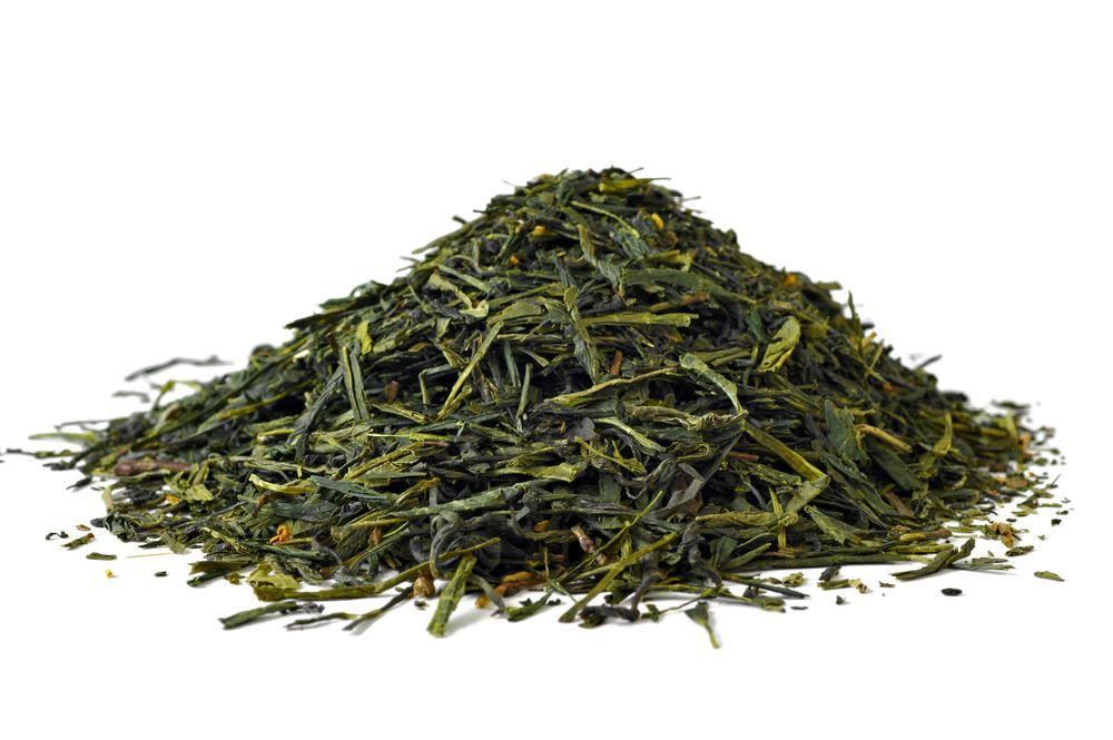 खुली पत्तियों वाली हरी चाय